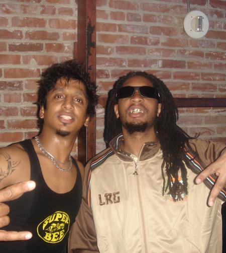 Ravi Drums with L 'il Jon