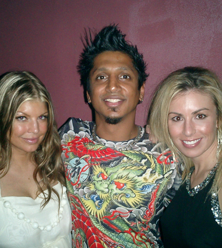 Ravi-with-Fergie-at-the-Grammys