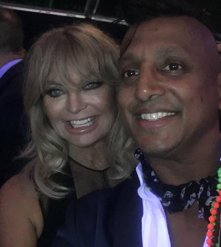 Ravi-with-Goldie-Hawn